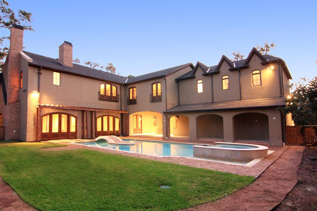 English Style New Build In Houston Tx Homes Of The Rich