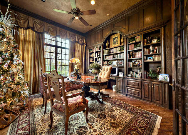 Incredible English Manor Home In Flower Mound Texas