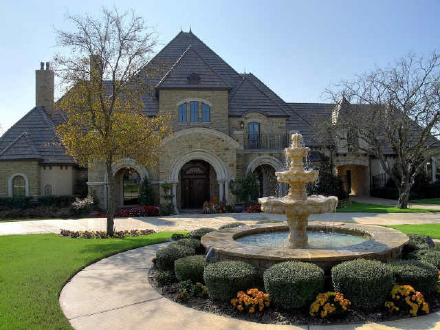 Old world feel to this montserrat fort worth texas mansion homes of the rich the 1 real for 3 bedroom townhomes in fort worth tx