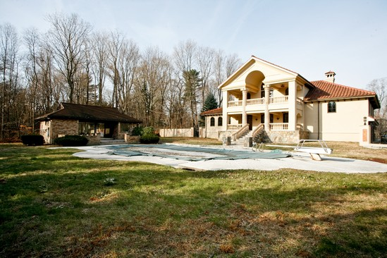Newly Built Tuscany Inspired Estate In Harrison, NY