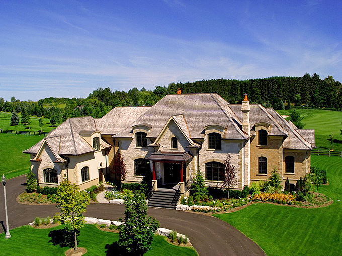 Brand New Mansion In Gated Community In Ontario Canada