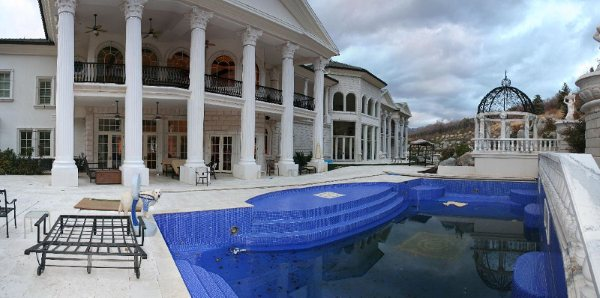Pictures of the villa bellissima estate in utah homes of the rich Indoor swimming pools in sandy utah