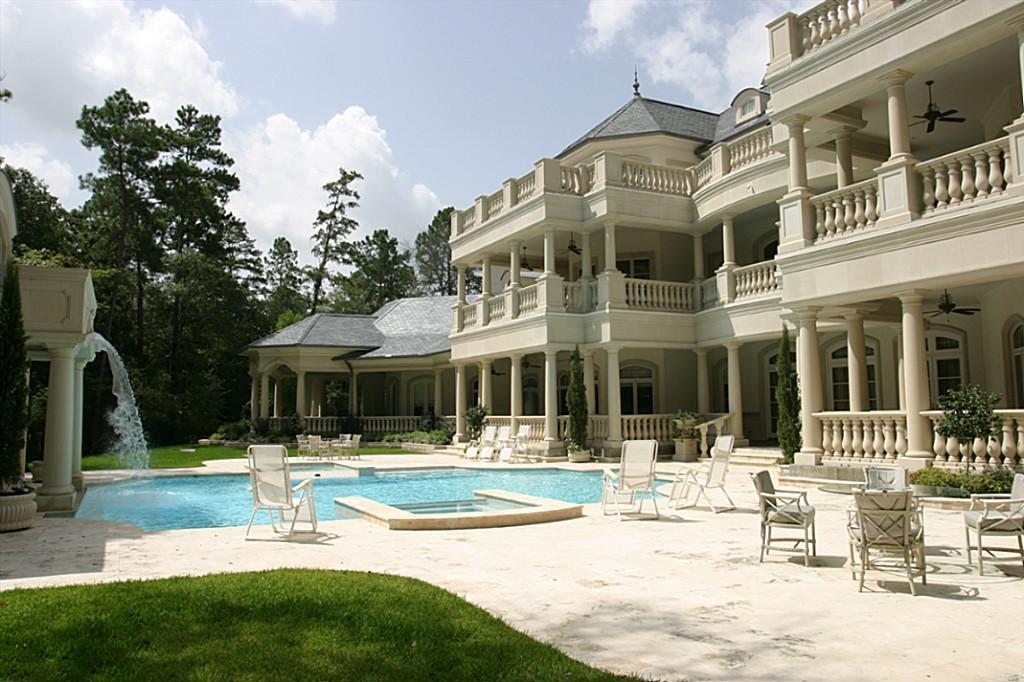 $19 Million, 30,000 Square Foot Mega Mansion In The Woodlands, TX