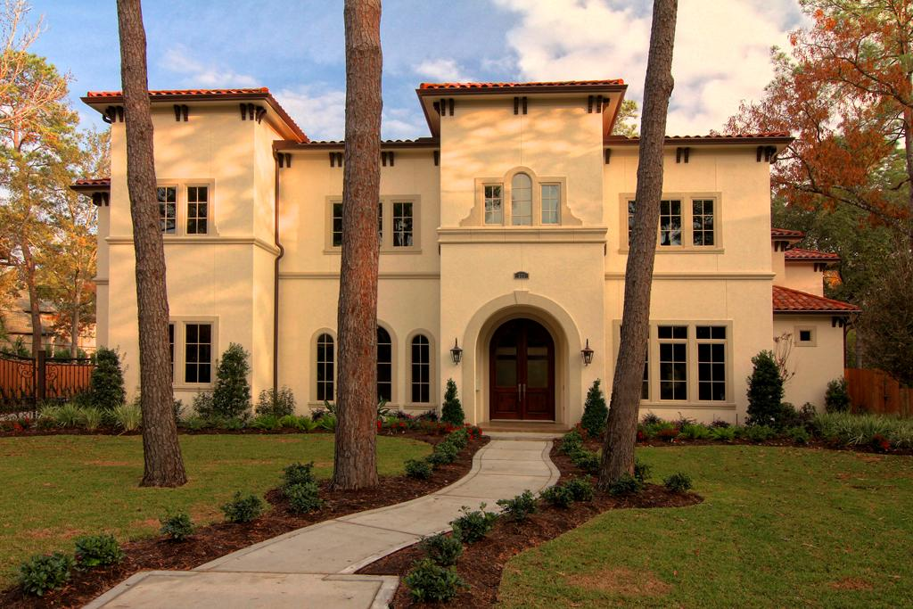 Newly constructed mediterranean home in houston tx Mediterranean style homes houston