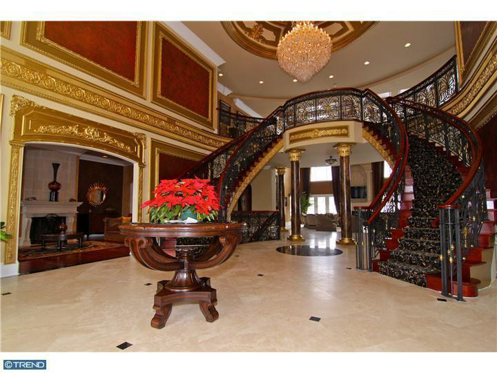 25 000 Square Foot Mega Mansion In Blue Bell Pa Homes