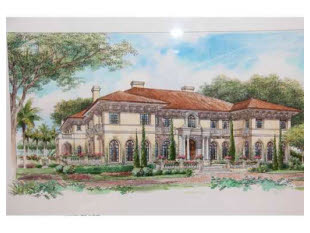 $22.9 Million Mansion To Be Built In Coral Gables, FL