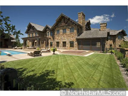 Colorado Lodge Style Estate In Minnesota