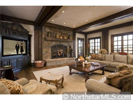Colorado Lodge Style Estate In Minnesota Homes Of The Rich