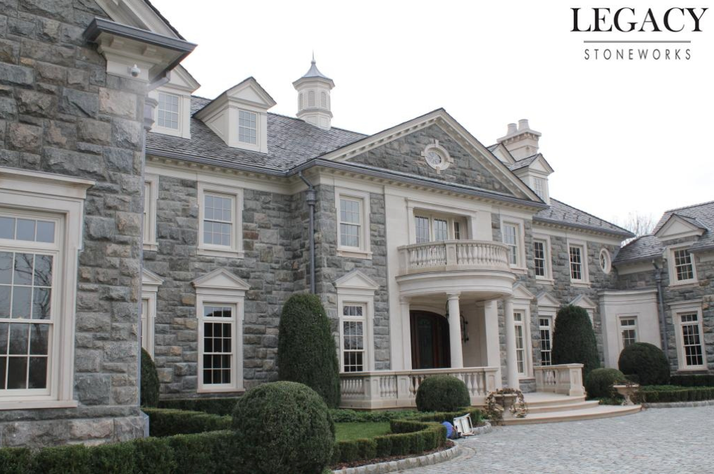 Exterior Pictures Of The 68 Million Stone Mansion