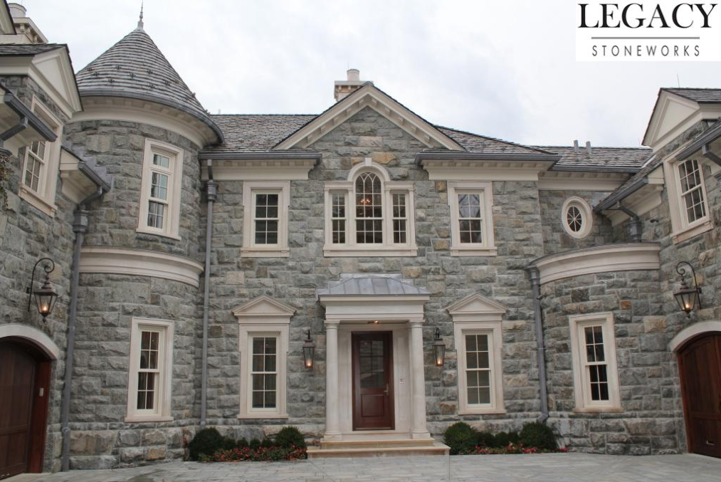 Home Exteriors: Exterior Pictures Of The $68 Million Stone Mansion