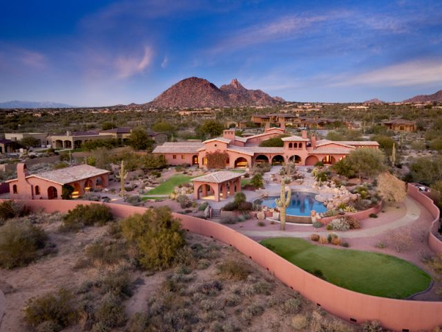 Spanish Hacienda Foreclosure In Scottsdale Az Homes Of