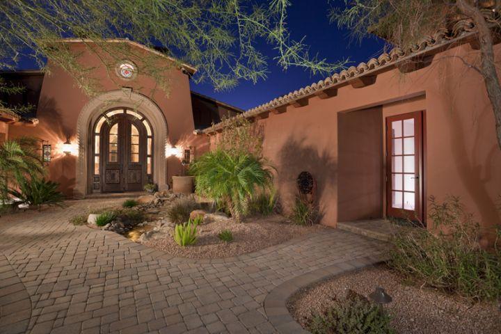 Spanish hacienda foreclosure in scottsdale az homes of for Arizona style homes