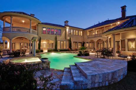 Mediterranean Mansion In Frisco Tx Homes Of The Rich