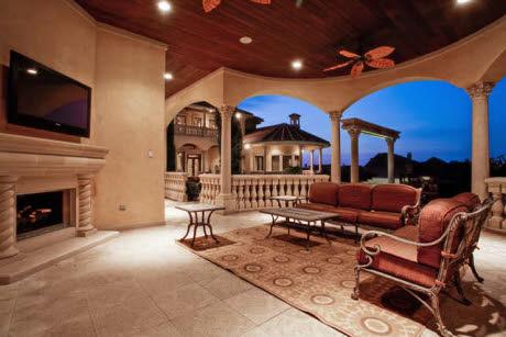 Mediterranean Mansion In Frisco, TX