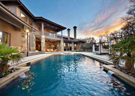 Modern Mediterranean Mansion In Westlake Tx Homes Of