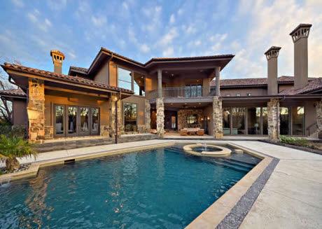 Modern Mediterranean Mansion In Westlake, TX