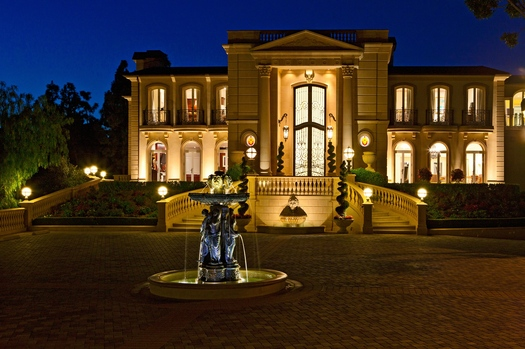 Newly Listed 55 Million Mega Mansion In Beverly Hills