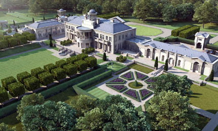 Proposed 40 000 Square Foot Estate In Surrey England