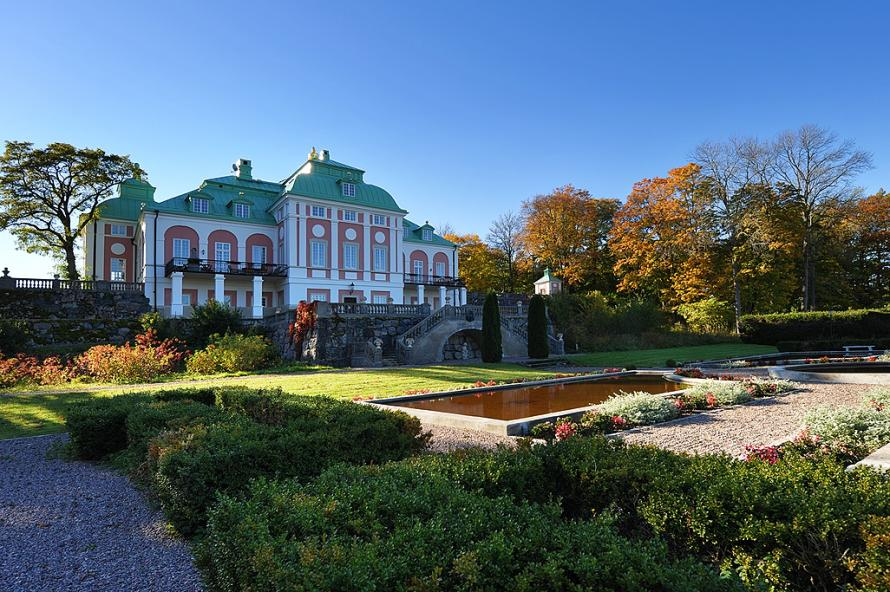 Ållonö – A Beautiful Baroque Palace In Sweden