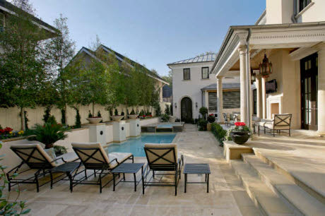Restored Neo Classical Mansion In Highland Park, TX