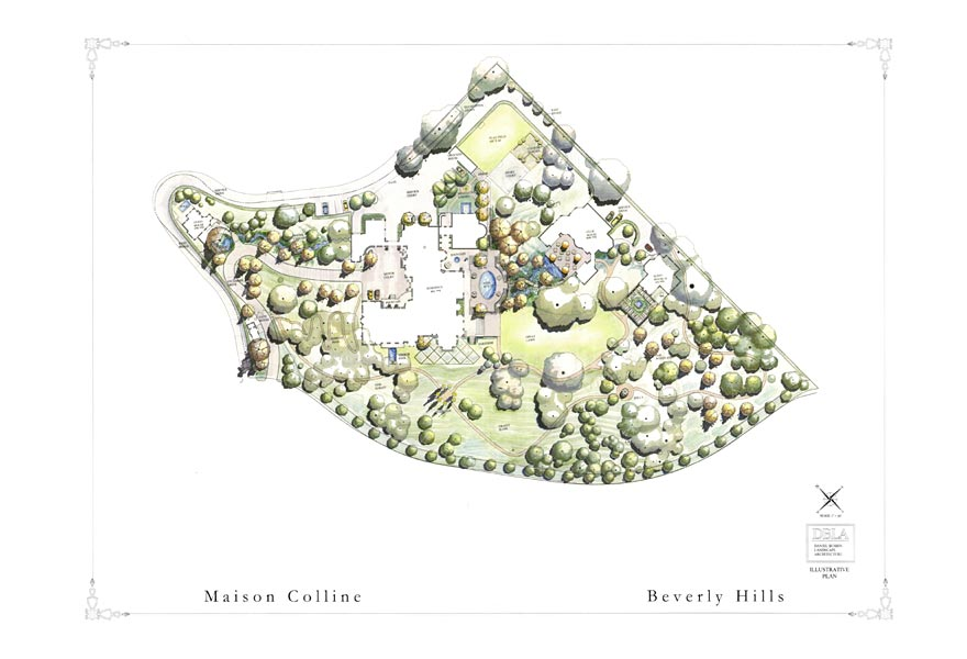46,000+ Square Foot Beverly Hills Mega Estate On The Drawing Boards