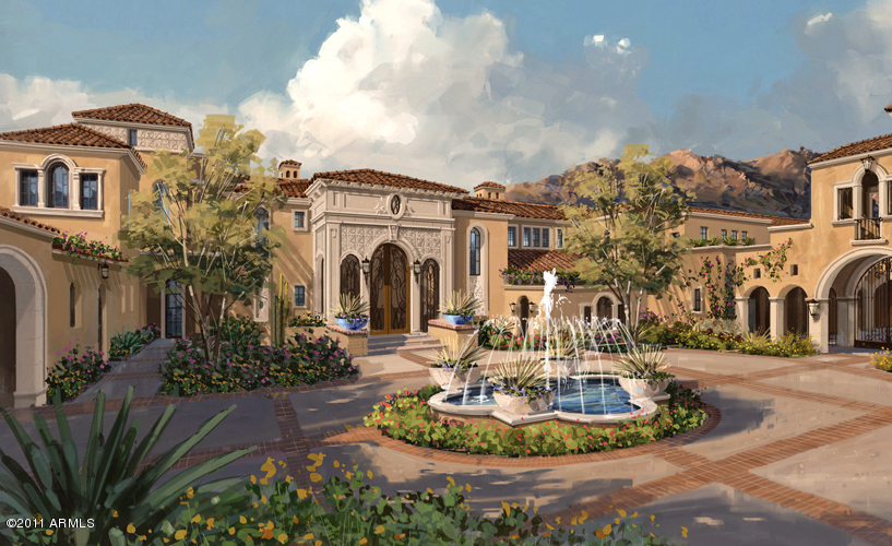 Proposed Spanish Mediterranean Estate In Scottsdale Az