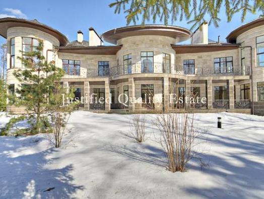 Massive 57 Million Newly Built Estate In Russia Homes