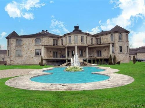 36,000 Square Foot Mega Mansion In Montreal