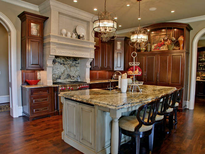 This traditional European style mansion is located at 1029 Crescent River  Pass in Suwanee, GA. It was built in