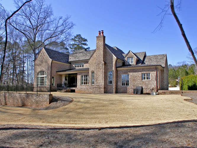 Traditional European Style Mansion In Suwanee, GA