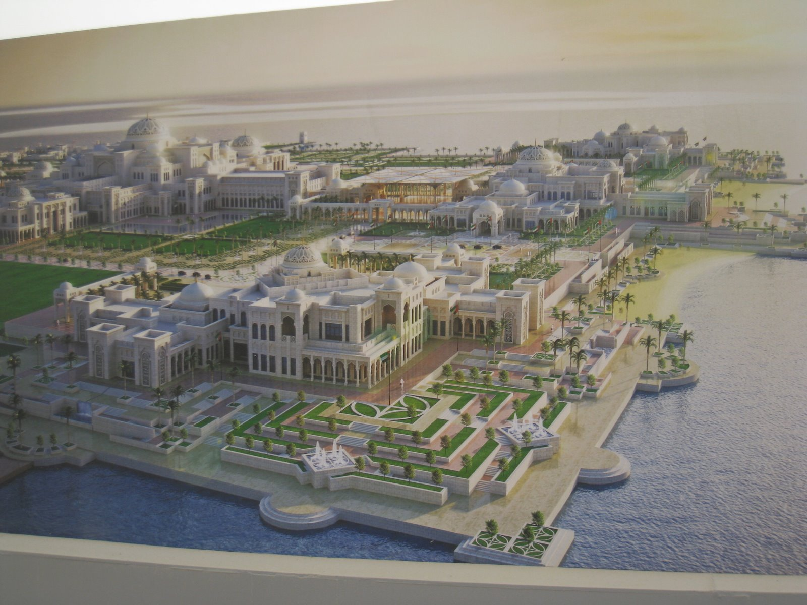 Abu Dhabi's Jaw Dropping New Presidential Palace