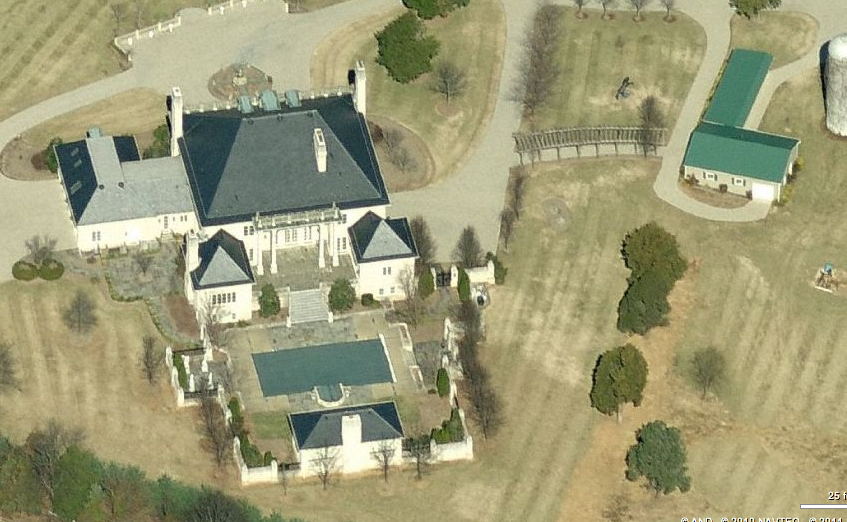 A Look At Some Mansions In Great Falls, VA