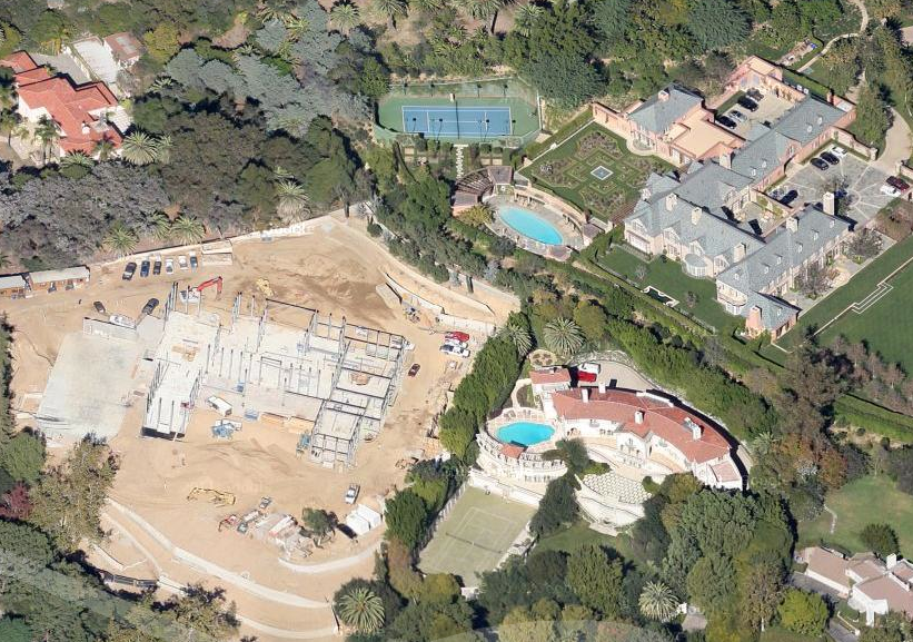 Huge California Mansions Under Construction