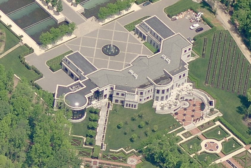 The Largest Private Residence In New Jersey