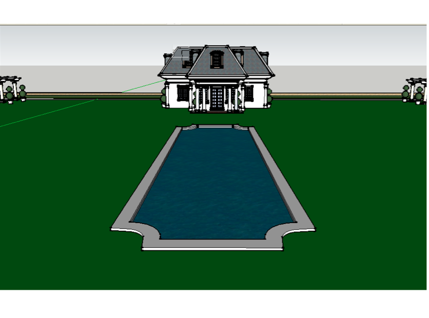 Another Homes of the Rich Reader's Google Sketchup Mansion