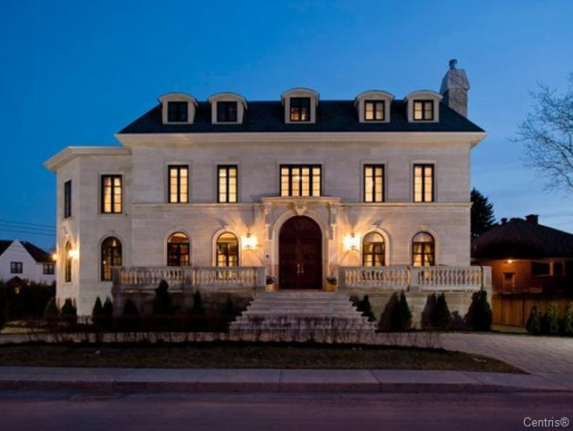 Spectacular limestone mansion in quebec hotr