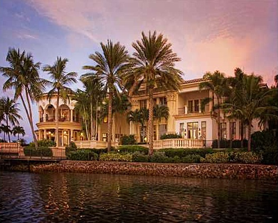 Newly Listed Waterfront Mansion In Jupiter Fl Homes Of