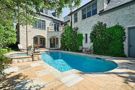 English Tudor Home In Highland Park, TX