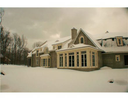 Tall Oaks – An Unfinished French Country Manor In New York