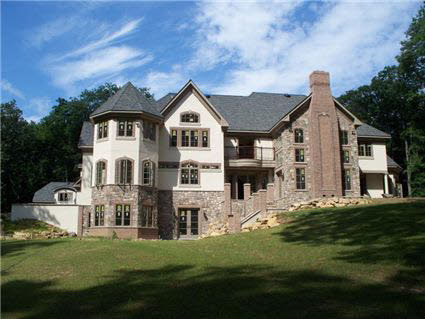 Newly Built English Country Manor In Bernardsville, NJ