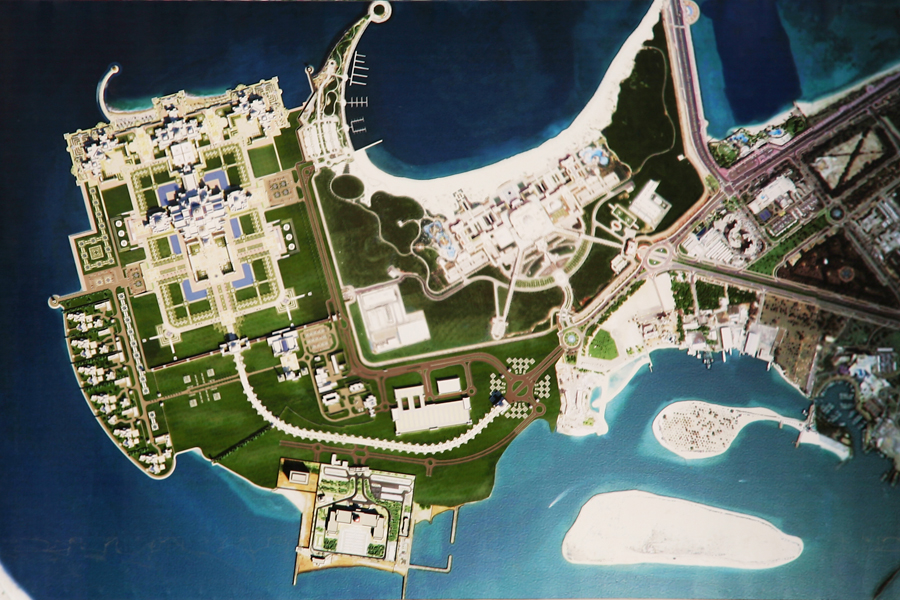 Abu Dhabi S Jaw Dropping New Presidential Palace Homes