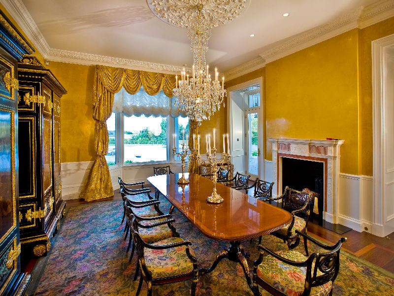 Which Lavish Dining Room Do You Prefer?