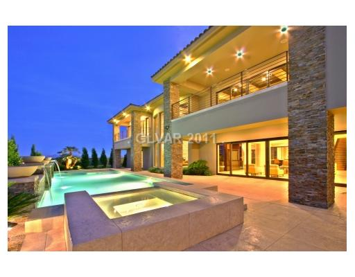 12,000 Square Foot Contemporary Estate In Las Vegas, NV