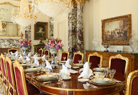 Which Lavish Dining Room Do You Prefer Homes Of The Rich