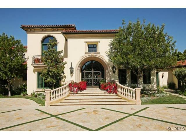 12,000 Square Foot Mediterranean Estate In Hidden Hills, CA