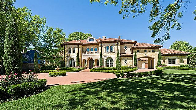 Tuscan Style Mansion In Dallas Tx By Bella Custom Homes
