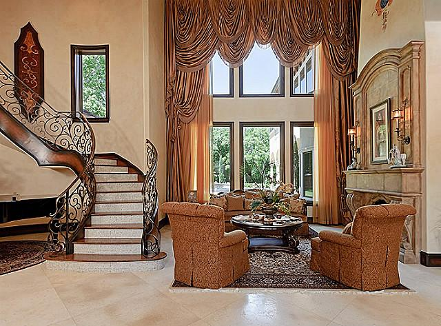 This Gated Tuscan/Mediterranean Style Estate Is Located At 10455 Strait  Lane In The Preston Hollow Neighborhood Of Dallas, TX. It Was Built In 2009  By Bella ...