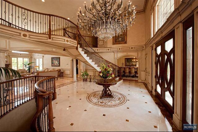 Foyer Room Jersey : Newly listed room mansion in saddle river nj homes