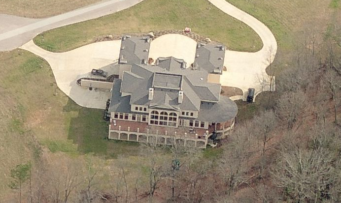 16,000 Square Foot Mansion In Ooltewah, TN