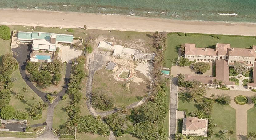 Lavish Oceanfront Home Being Built In Lantana, FL